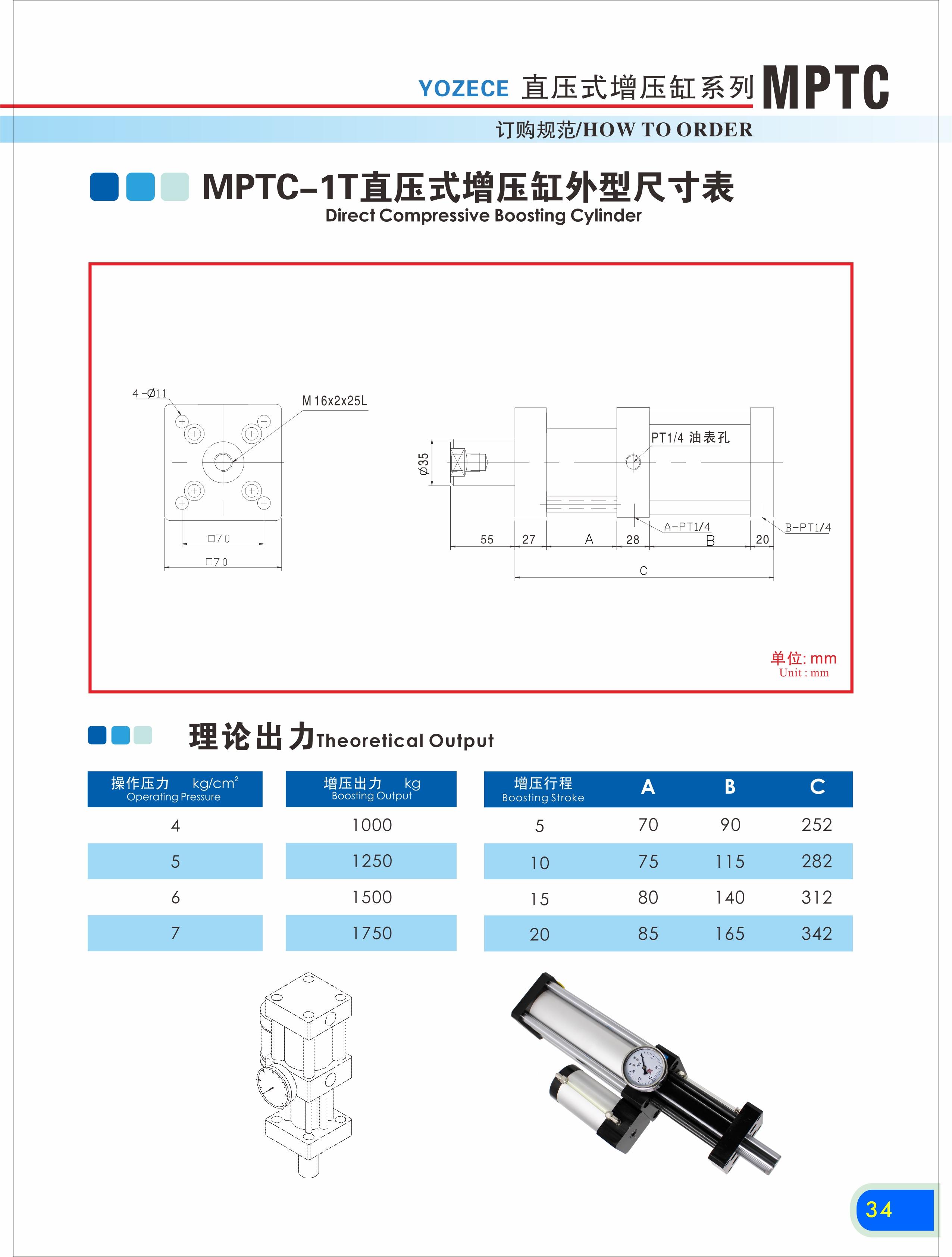 Direct Compressive Boosting Cylinder How Toorder