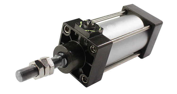 Micro Pneumatic Piston Double Acting Compressed Manufacturer Sensor Pnematic Burnisher Small Telescopic Air Compressor Cylinder