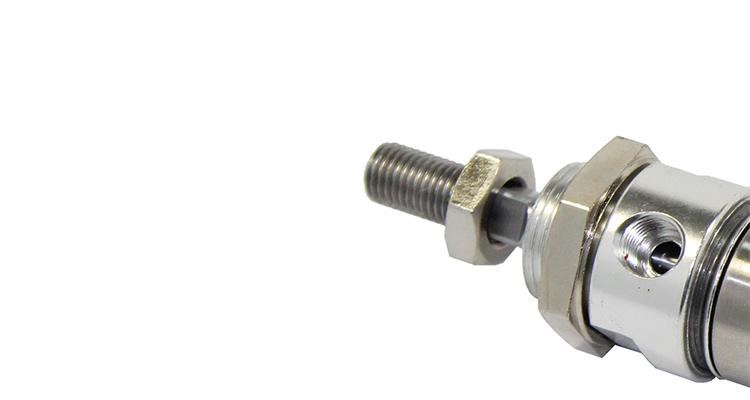 Stainless Steel Mini Pneumatic Door Cylinder