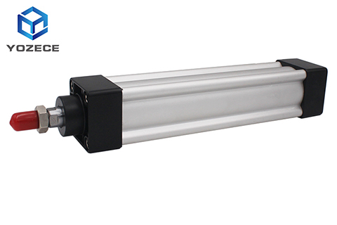 Sc Telescoping High Pressure Long Stroke Price Double Acting Telescopic 2000mm Ram Brake Booster Pneumatic Air Cylinder