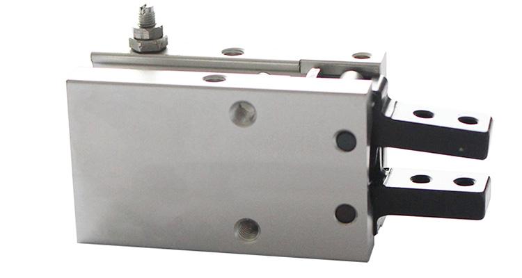 Standard Fulcrum Open-closed Claw Angular Type Air Gripper