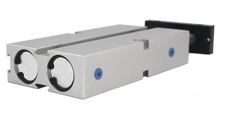 Dual Pneumatic Double Rod Air Cylinder